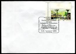 40811) BRD - Beleg Mi 2681 - SoST 15324 LETSCHIN Vom 05.06.2010 - 175 Jahre Eisenbahn In Deutschland, Dampflok - [7] West-Duitsland
