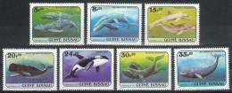 Mwz025 FAUNA ZEEZOOGDIEREN WALVIS WHALE SEA MAMMALS BALEINES MARINE LIFE GUINÉ-BISSAU 1984 PF/MNH# - Guinea-Bissau