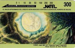 TARJETA TELEFONICA DE URUGUAY, TAMURA, TM20 (296) - Uruguay