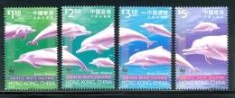 Nbx263s WWF FAUNA ZEEZOOGDIER DOLFIJN CHINESE WHITE DOLPHIN MAMMAL DELPHIN DAUPHIN MARINE LIFE HONG KONG 1999 PF/MNH - W.W.F.
