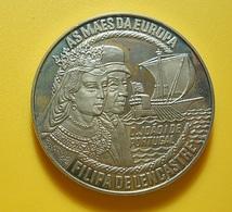 Medal Portugal 5 Euro 1996 Filipa De Lencastre - Tokens & Medals