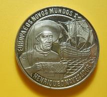 Medal Portugal 2 1/2 Ecu 1991 Henrique O Navegador - Tokens & Medals