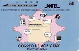 TARJETA TELEFONICA DE URUGUAY, TAMURA, TM22 (301) - Uruguay