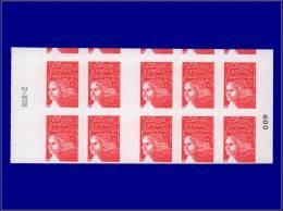 FRANCE Carnets (N° Cérès) Yvert:530 E, Carnet De 10, 1ère Rangée Plus Grande Avec Début De 3ème Rangée      - Qualité: X - Booklets