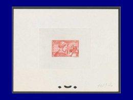 FRANCE Epreuves D'Artiste Yvert:448, épreuve D'atelier En Rouge Sur Gris (N° 1409): Languedocienne      - Qualité: EPT - Artist Proofs