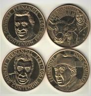 Lot 4 Medailles Arthus Bertrand 13.Fernandel  2009/2010. Neuve - Arthus Bertrand