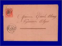 ALGERIE  Yvert:France Yv. 16 Sur Enveloppe, Cachet GC 5024 (Dellys), 1/4/74      - Qualité: - Algeria (1924-1962)