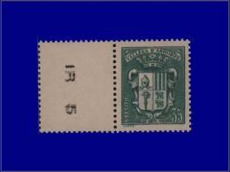 ANDORRE  Yvert:56, Bdf: 35c. Vert Armoiries      - Qualité: XX . Cote: 160 - Stamps