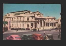 078670 Uruguay MONTEVIDEO OPERA Theatre Vintage PC - Uruguay