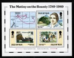 GB ISLE OF MAN IOM - 1989 BOUNTY MINIATURE SHEET FINE MNH ** SG MS415 - Isle Of Man