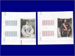 MONACO Essais De Couleurs Yvert:1279/80, Essais (proches Du Définitif), Cdf Daté: Prince Albert      - Qualité: XX - Monaco