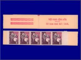 VIETNAM DU SUD Carnets (N° Cérès) Yvert:C 329, Carnet De 10, Complet: Poste Mobile      - Qualité: XX . Cote: 183 - Vietnam