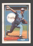 088887 Baseball Topps CARD 1992 Bill Sampen Expos #566 - Baseball - Minors