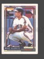 088907 Baseball Topps CARD 1992 Mike Aldrete Indians #256 - Baseball - Minors
