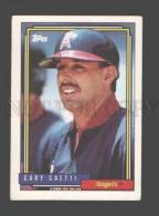 088910 Baseball Topps CARD 1992 Gary Gaetti Angels #70 - Baseball - Minors