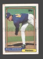 088918 Baseball Topps CARD 1992 Bill Krueger Mariners #368 - Baseball - Minors