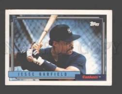 088920 Baseball Topps CARD 1992 Jesse Barfield Yankees #650 - Baseball - Minors
