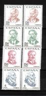 213h * SPANIEN 1724/7 * 2x PERSÖNLICHKEITEN * POSTFRISCH  **!! - 1931-Today: 2nd Rep - ... Juan Carlos I