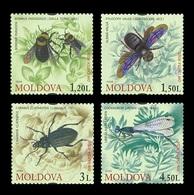 Moldova 2009 Mih. 659/62 Fauna. Insects MNH ** - Moldavie