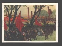 095876 RUSSIA AVANT-GARDE REVOLUTION Petrograd Kustodiev Old - Illustrators & Photographers