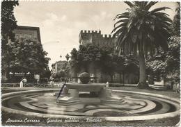 X2385 Apuania Carrara (Massa Carrara) - Giardini Pubblici - Fontana / Viaggiata 1941 - Carrara