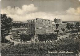 X2392 Manfredonia (Foggia) - Castello Angioino - Castle Chateau Schloss Castillo - Panorama / Viaggiata 1955 - Manfredonia
