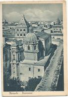 X2398 Marsala - Campanile Della Chiesa Del Purgatorio - Panorama / Viaggiata 1951 - Marsala