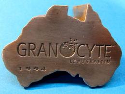 PRESSE-PAPIER GRANOCYTE LENOGRASTIN 1994 ( POIDS 319 GRAMMES ) - Presse-papiers