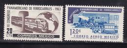 MEXICO Trains Railway MNH** CV 2,4€ - Eisenbahnen