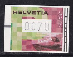 SWITZERLAND Trains Railway MNH** - Eisenbahnen