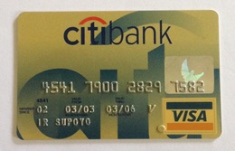 Indonesia Creditcard - VISA CITIBANK (Used) - Credit Cards (Exp. Date Min. 10 Years)