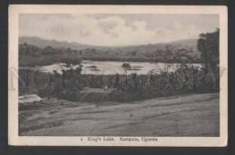 117828 Uganda KAMPALA King's Lake Vintage Postcard - Uganda