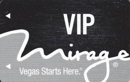 Mirage Casino Las Vegas Hotel Room Key Card - Hotel Keycards