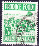 Australien Australia - Landesprodukte Fleisch (MiNr: 225) 1953 - Gest Used Obl - Used Stamps