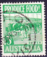 Australien Australia - Landesprodukte Butter (MiNr: 223) 1953 - Gest Used Obl - Used Stamps