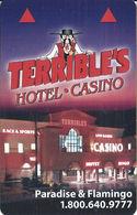 Terrible's Casino - Las Vegas, NV - Hotel Room Key Card (no Text Over Mag Stripe) - Hotel Keycards