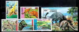 647  Prehistoric Fauna - Congo 1993 - MNH - 2,75 - Postzegels