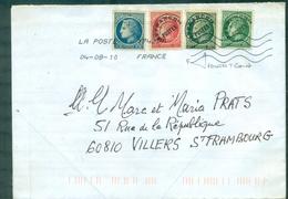 FRANCE Variete Préoblitérés N° 89 & 90 : T Court Sur Env De 2010 - Autres