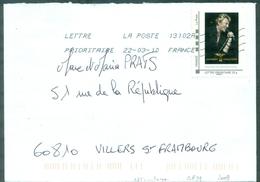 FRANCE  ID TIMBRE JOHNNY HALLYDAY. TOUR 66 S/lettre De 2010 Tb. - Autres