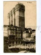 133038 BRASIL BRAZIL Sao Paulo Vintage Postcard - São Paulo