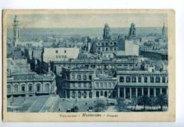 133045 URUGUAY MONTOVIDEO Vista Parcial Vintage Postcard - Uruguay