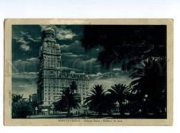 133046 URUGUAY MONTOVIDEO Palacio Salvo Vintage Postcard - Uruguay