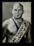 135867 WRESTLINGJohannes KOTKAS Estonian Wrestler Old Postcard - Lutte