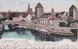 Cp , 67 , STASSBURG I. E. , Partie Bei Den Gedeckten Brücken - Strasbourg