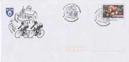 Enveloppe  Prêt  à Poster   Ville    Passage   Du  TOUR  DE  FRANCE   CYCLISTE   HETTANGE - GRANDE   2006 - Cycling