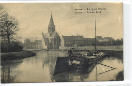 1 Postkaart Deinze La Lys Et L'Eglise - Deinze