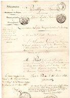 ADMINISTRATION DE L'ENREGISTREMENT ET DES DOMAINES. Nomination à Besançon De PÉRET Émile, Stanislas 1848 - Réf. N°66F - - Manuscripts