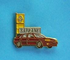 1 PIN'S //   ** RENAULT SAFRANE ** - Renault