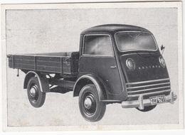 GOLIATH GV 800  (PRITSCHE) '51 - Wistü-Sammelbild  Nr. 408 - 'Das Kraftfahrzeug' - Auto's