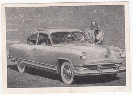 KAISER FRAZER CONTINENTAL SPEZIAL '51 - Wistü-Sammelbild  Nr. 1117 - 'Das Kraftfahrzeug' - Auto's